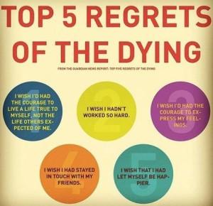 Top 5 Regrets