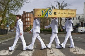 Abbey Road Final Fling funeral