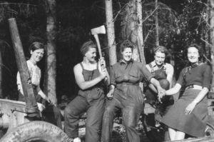 lumber jills