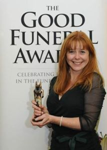 Tracy O'Leary, Green Funeral Director of the Year