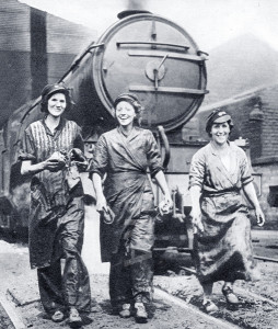 Women Railway Workers - WW2