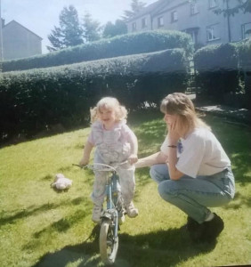 Emily and mum