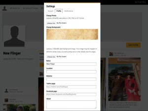 4 settings>profile