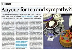 The Observer: Anyone for tea and sympathy?